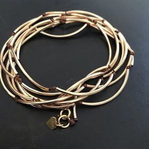 PAME' Design of Aspen Gold Wrap Bracelet